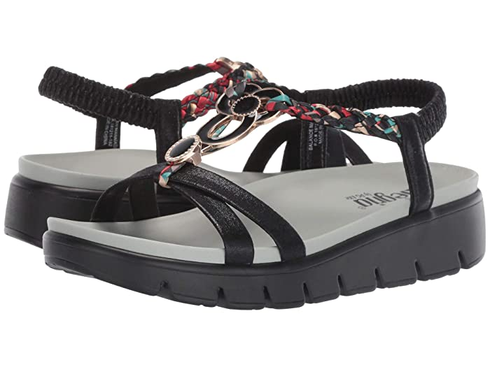 Alegria  Roz (Black Multi) Womens  Shoes