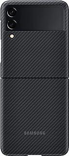 جراب هاتف Samsung Galaxy Z Flip 3، غطاء واقٍ للأراميد، شديد التحمل، واقي هاتف ذكي مضاد للصدمات، إصدار أمريكي، أسود