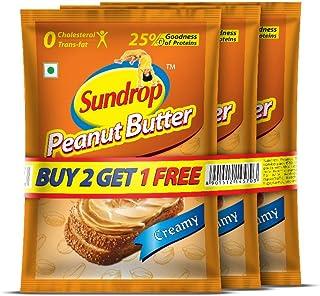 Sundrop Peanut Butter Creamy Sachet, 32g (Buy 2 Get 1 Free)