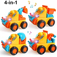 Beebeerun Take Apart Toy Construction Vehicles Kit