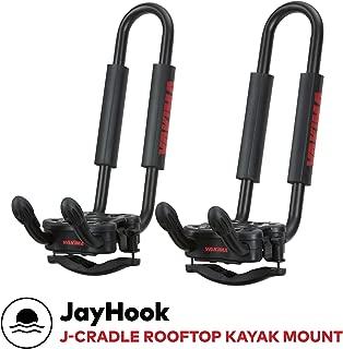 yakima - JayHook Rooftop Mounted Kayak Rack for Vehicles, Carries 1 Kayak