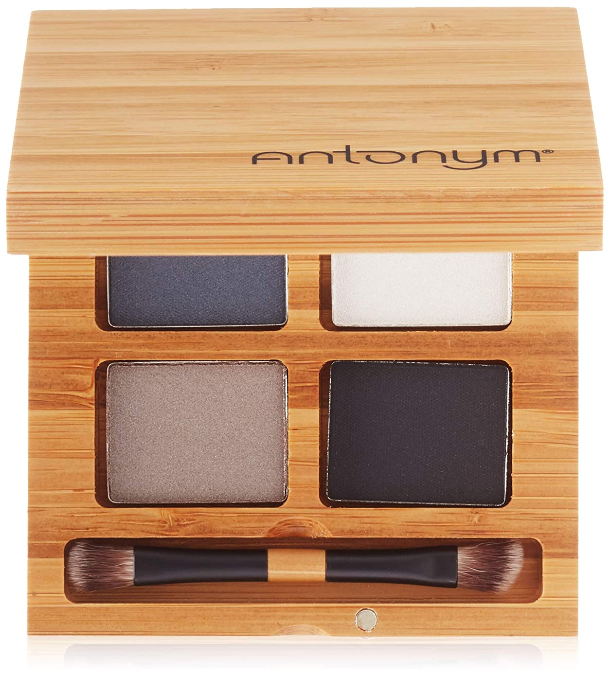 ジャンピングジャック実り多いガソリンAntonym - Certified Organic Eyeshadow Quattro To The Moon and Black