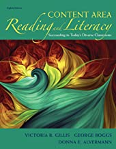 Content Area Reading and Literacy: Succeeding in Today's Diverse Classrooms (What's New in Literacy)