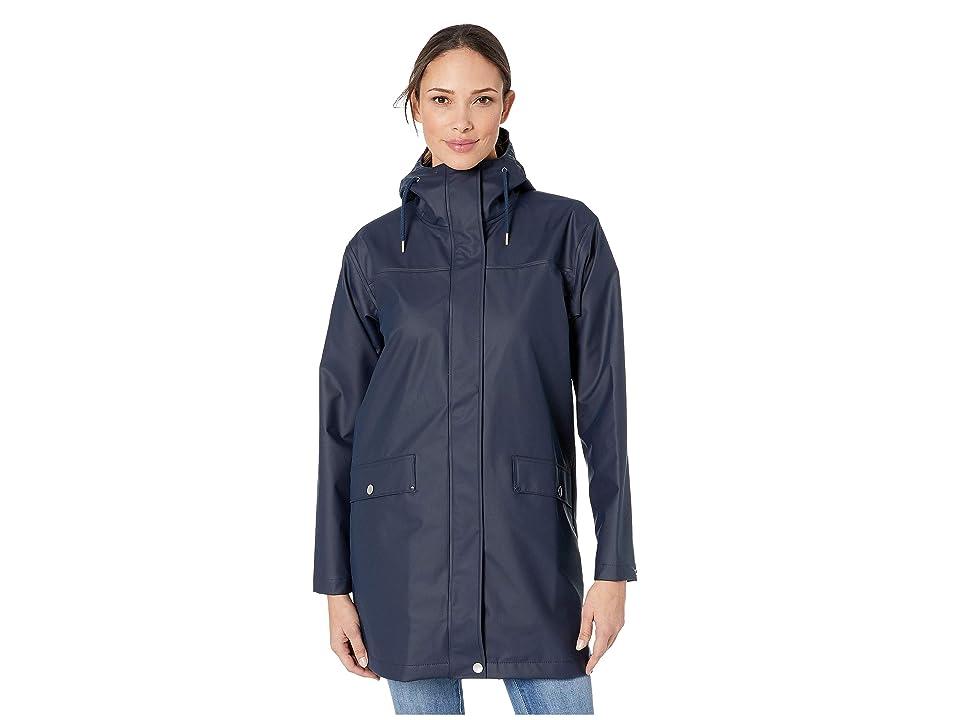 Helly Hansen Moss Raincoat (Navy) Women