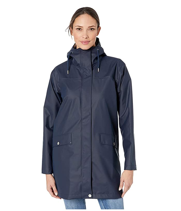 Helly Hansen Moss Raincoat (Navy) Women