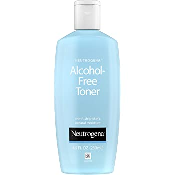 Neutrogena Oil- and Alcohol-Free Facial Toner, Hypoallergenic Skin-Purifying Face Toner to Cleanse, Recondition and Purify Skin, Non-Comedogenic, Quick-Absorbing, 8.5 fl. oz