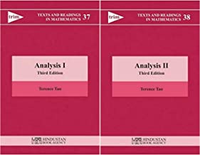 Terence Tao - Analysis I + Analysis II (Texts and Readings in Mathematics 37 & 38) (3rd Edition CORRECTED REPRINT) || Terence TAO COMBO (Set of 2 Books)
