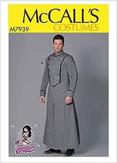 McCall's Patterns M7939 MWW Men's Costume Coat by Yaya Han, Size 38-40-42-44