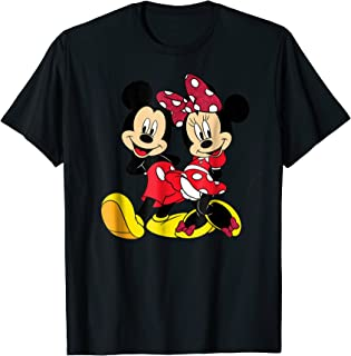 Mickey and Minnie Big Mouse T-shirt
