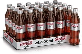 Coca -Cola Light Carbonated Soft Drink, Pet Bottle - 500ml (Pack of 24)