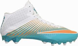 Nike Vapor Speed 2 PF 3/4 Mid 846443-317 Miami Dolphins Men's Football Cleats 13 US