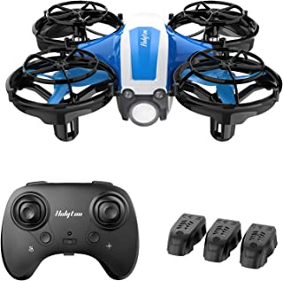 Holyton Mini Drone for Kids Beginners Adults, Hand Operated/Remote Control Quadcopter with 21Mins Flight Time,Auto Hover,A...