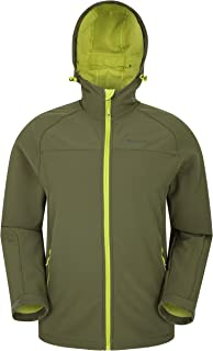 Mountain Warehouse Exodus Mens Softshell Jacket -Water Resistant Shell