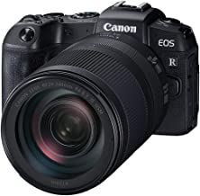 Canon RPKIT Digital Camera - Mirrorless Canon EOS RP Full Fram Mirrorless Camera with RF 24-240mm f/4-6.3 is USM Lens, Black (RPKIT)