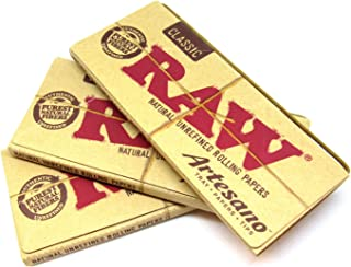 raw artesano king size with tips