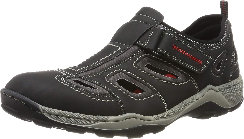 Rieker Men's 08075-01 Low-Top Sneakers