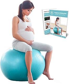 comprar comparacion BABYGO Pelota de Pilates Embarazadas, Fitball, Ejercicio, Balón de Gimnasia Anti-Burst 1000 KG para Parto y Embarazo,Yoga,...
