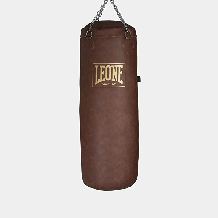 Sacco da boxe vintage 40kg at823 made in italy - leone 1947 B08MLGDGQ7