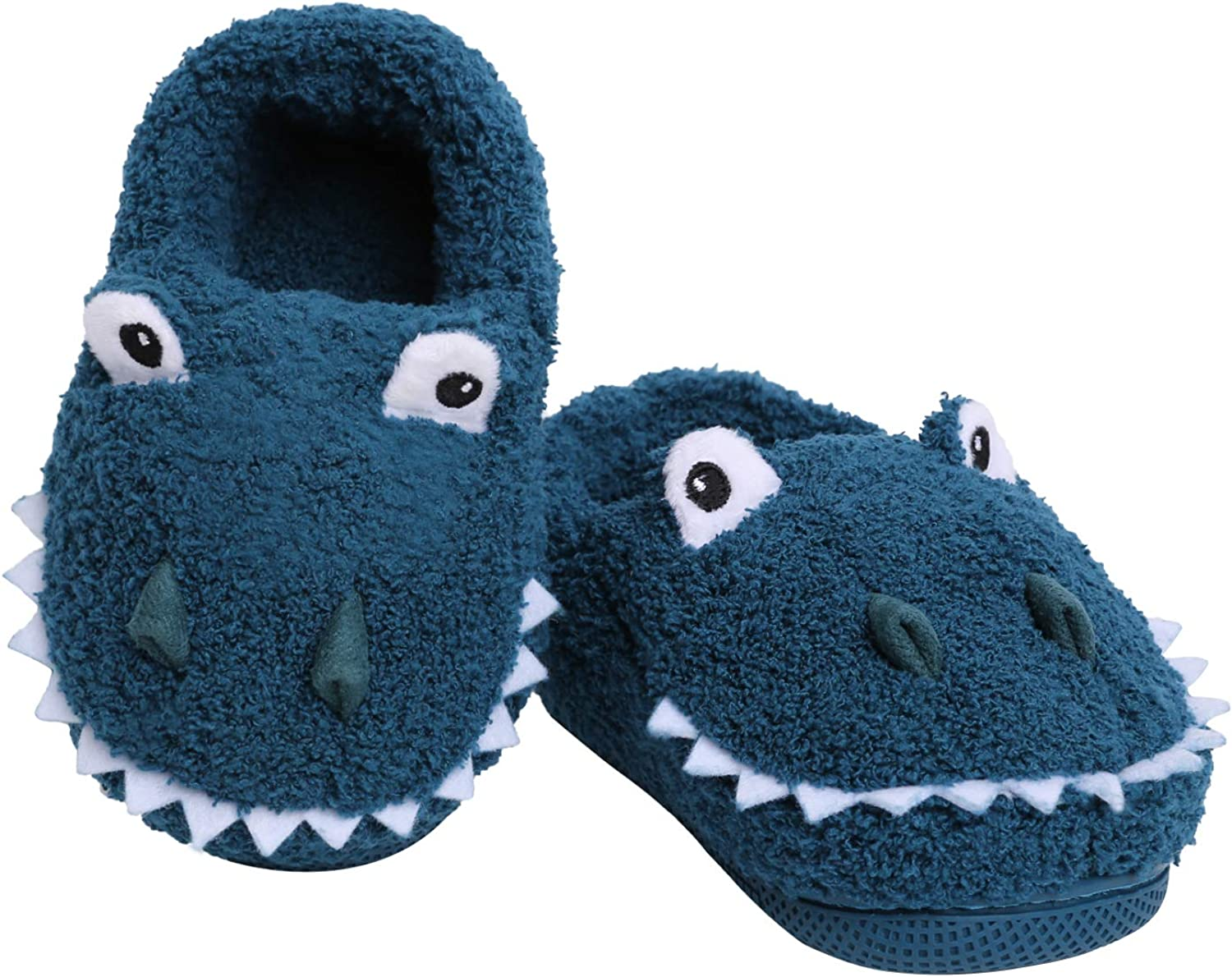 Yinbwol Girls lowest price Boys Home Slippers Dinosaur House Free shipping anywhere in the nation Cute Warm Slippe