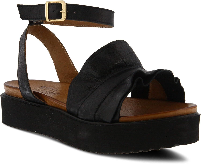 Spring Step Womens Menia Heeled Sandal