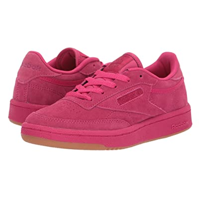 Reebok Kids Club C 85 TG (Little Kid) (Pink Craze/Manic Cherry/Gum) Girls Shoes