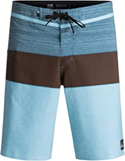 Men's Everyday Blocked Vee 20 Inch Boardshort Swim Trunk
