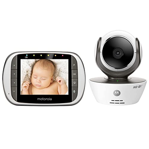 b143961d64366 Motorola MBP853CONNECT Dual Mode Baby Monitor with 3.5-Inch LCD Parent  Monitor and Wi-