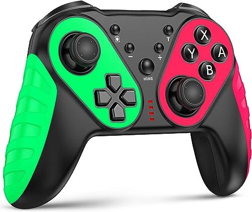 Kydlan for Nintendo Switch Controller, Enhanced Pro Wireless Switch Controller for Nintendo Switch / Switch Lite, w/ ...