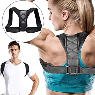 Posture Corrector for Men Women Upper Back Brace Effective Comfortable Adjustable Back Straightener Posture Trainer Clavicle Support Device Prevent Slouching for Upper Back Shoulder Neck Pain Relief