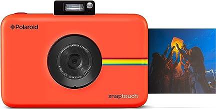 Polaroid Snap Touch - Cámara digital con impresión instantánea y pantalla LCD con tecnología Zero Zink, rojo