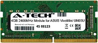 A-Tech 4GB モジュール ASUS VivoMini UN65U ノートパソコン & ノートブック用 DDR4 2400Mhz メモリラム対応 (ATMS360289A25825X1)