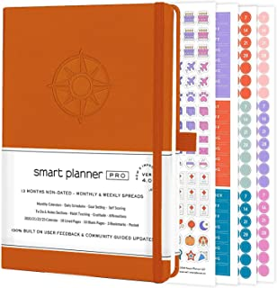 $24 » Smart Planner Pro – Daily Planner – Tested & Proven to Achieve Goals & Increase Productivity, Time Management & Happiness ...