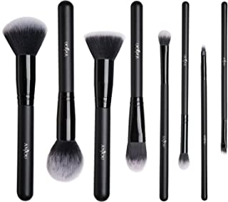 Makeup Brushes Set, Anjou 8 Pieces Synthetic Makeup Brushes For All Look, Foundation Blush Face Concealer Eyeliner Shadow Cosmetics Brush Set, Waterproof Cosmetic Bag Included