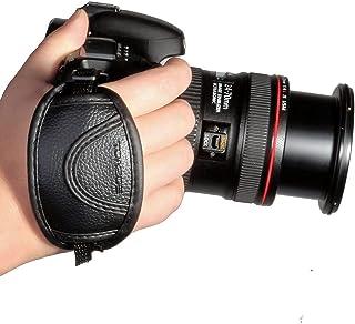 TOAZOE - Correa de mano para Canon EOS T5i T4i T3i 60d 70d 5d Nikon D7200D7000D600D800D90D5200D3100Sony Olympus SLR/DSLR de piel