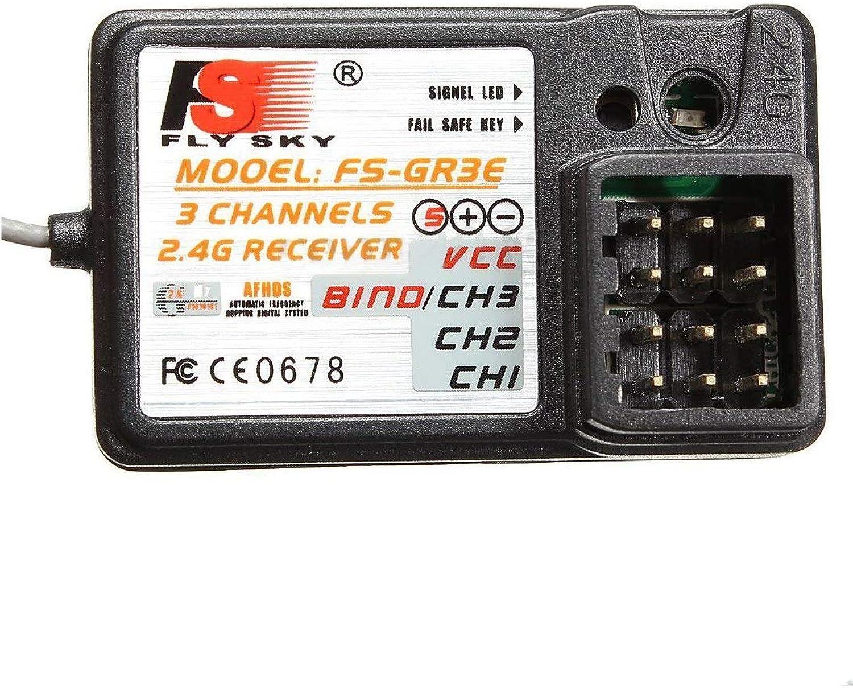 FSGR3E 3CH 2.4GHz Receiver GT2 GT3 GT3B GT3C GR3C RC Car Boat