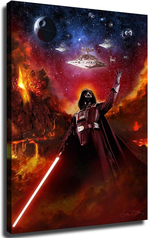 Anakin Skywalker Star Wars Poster 2021 Art Home Canvas Seattle Mall Wall Wal Decor