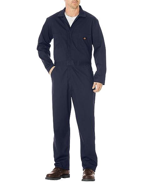 Dickies Mens Work Wear Lightweight Cotton Coverall Regular Leg Length