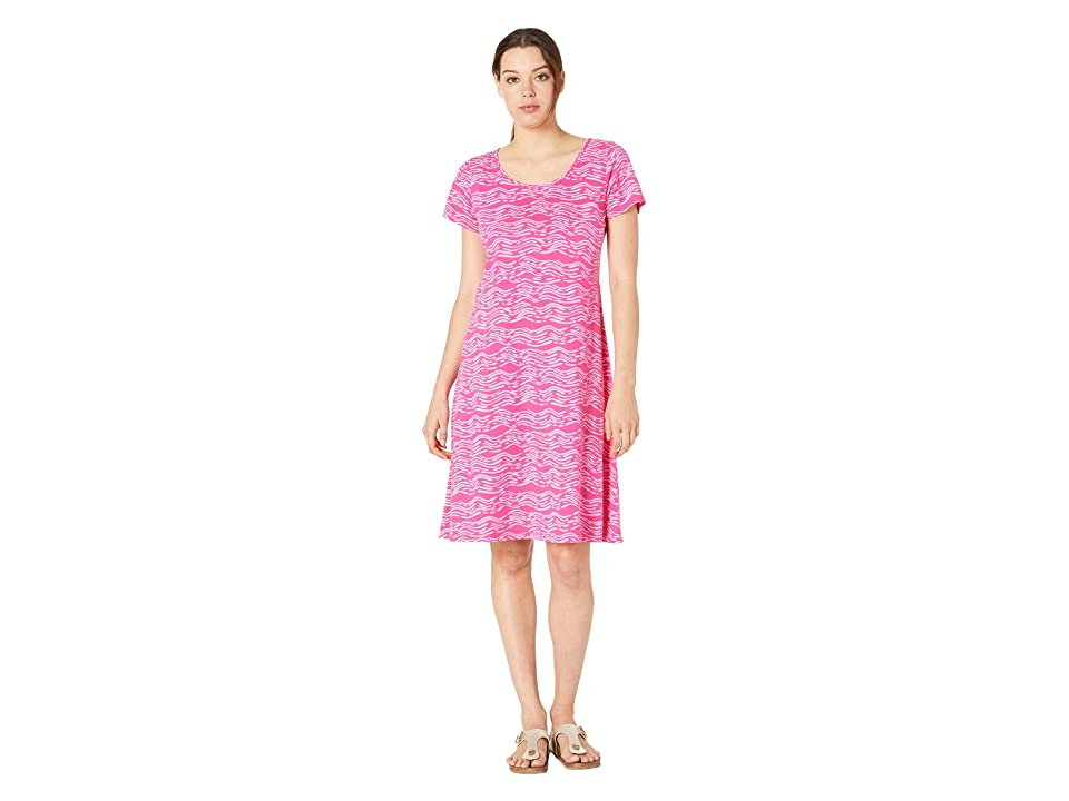 Fresh Produce Seashore Sadie Dress (Raspberry) Women