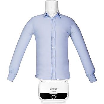 Ufesa SV1200 - Automatischer Bügler und Trockner, Bügelautomat, Hemden, Blusen un T-Shirts, Beseitigt Falten und neutralisiert Gerüche, einstellbare Größen,Timer bis zu 3 Std.