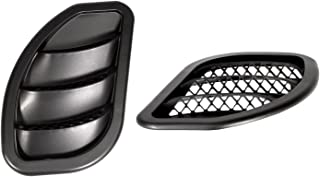 Daystar, Jeep JK Wrangler Hood Vents, Right and Left, Black, Pair, fits 2007 to 2017 2/4WD, KJ71048BK, Made in America
