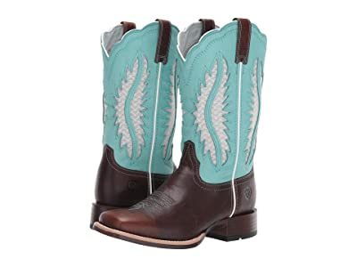 Ariat Solana Venttek (Brown Patina/Aruba Blue) Cowboy Boots