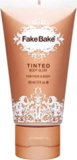 Glow Body Lotion by Fake Bake | Tinted Body Glow Compliments and Enhances a Tan as well as Natural Skin Tone | Highlight Legs, Low Neckline, Arms or Anywhere You Want to Draw Attention to | 2 oz