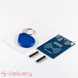 AZDelivery RFID Kit RC522 13,56MHz con Lector, Chip