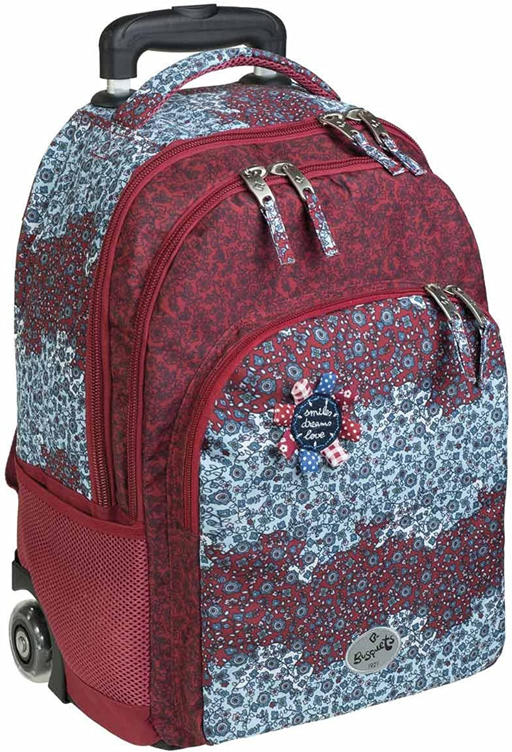 Busquets wheeled double backpack FOLK
