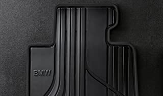 BMW 51472219799 Basic Line All-Weather Floor Mats for F30, F31, F34 3 Series and F80 M3 (Set of 2 Front Mats)