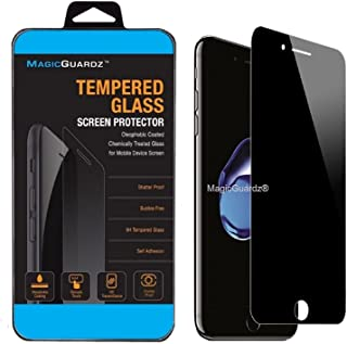 "MagicGuardz, Made for Apple 5.5"" iPhone 8 Plus, Privacy Anti-Spy Tempered Glass Screen Protector Shield, Retail Box"