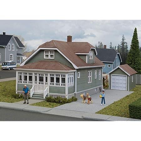 KIT 933-3790 WALTHERS CORNERSTONE HO SCALE COMPANY HOUSE KIT 2