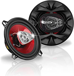 BOSS Audio Systems CH5530 5.25 Inch Car Speakers - 225 Watts of Power Per Pair, 112.5 Watts Each, Full Range, 3 Way, Sold ...