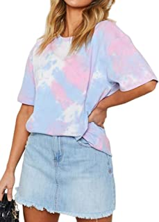 Best pink and purple tie dye dress Reviews