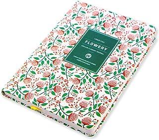ToiM Diario de flores de tamaño de bolsillo, cuaderno planificador para mujeres o niñas,